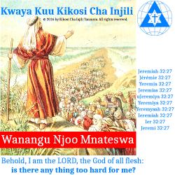 08 Kwaya Kuu Kikosi Cha Injili - Sahani Yangu Bakuli Langu
