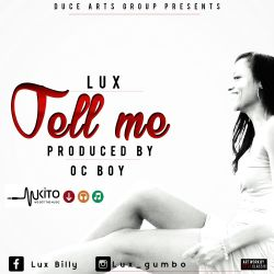 Lux G - Lux - tell me