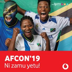 Vodacom Tz - Ni Zamu Yetu (AFCON 2019)